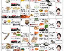 9月お買い物カレンダー