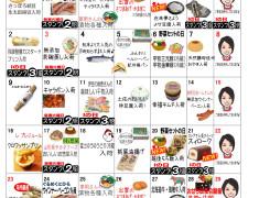 11月お買い物カレンダー