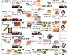 2月お買い物カレンダー