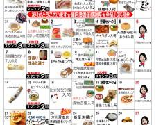 6月お買い物カレンダー